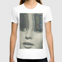 0 0 Womens Fitted Tee White SMALL
