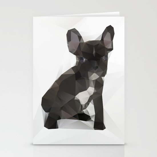 French Bulldog Stationery Card