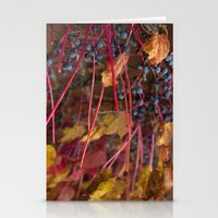 Berries and Leaves Stationery Cards