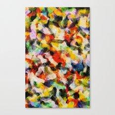 Starry halftone Canvas Print