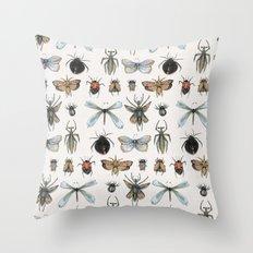 Entomology Throw Pillow