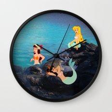 Peter Pan's Mermaid Lagoon Wall Clock