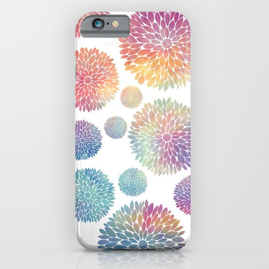 Watercolor Flowers iPhone & iPod Case