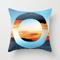 Decoy Geometry Throw Pillow
