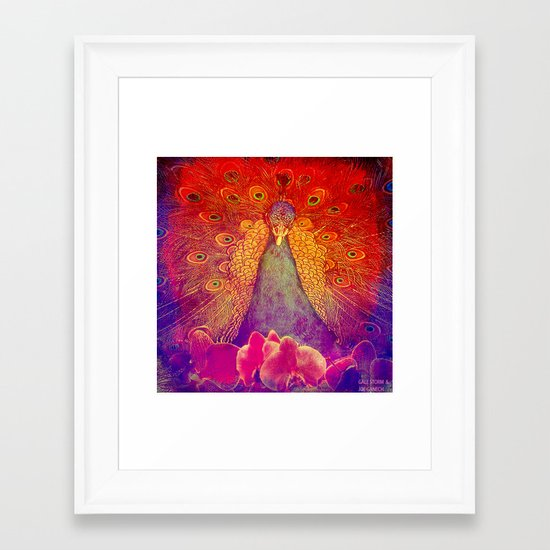 :: Happy Hour :: by    Gale Storm and Joe Ganech  Framed Art Print