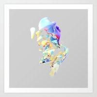 ACRYLIC IV Art Print
