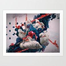 Repeat Art Print