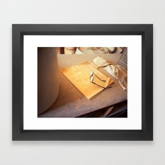 Spectacles Framed Art Print