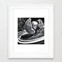Fountain I Framed Art Print