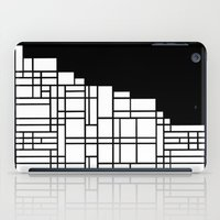 Map Black Boarder iPad Case