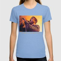 CIRCA SURVIVE Womens Fitted Tee Tri-Blue SMALL