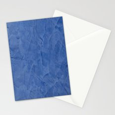 Tuscan Blue Plaster Stationery Cards
