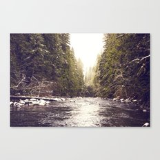 Divinity on the Salmon River Canvas Print