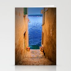 Stairs To The Sea Stationery Cards
