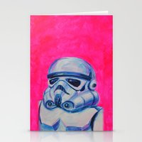 Stormtrooper Baby Stationery Cards