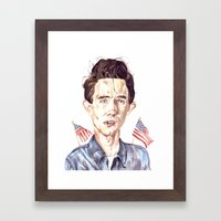 Merica Framed Art Print