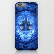 Wintery Abstract Forest iPhone 6 Slim Case