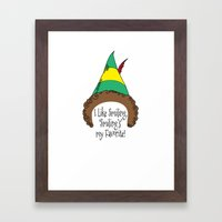 Smiling Framed Art Print