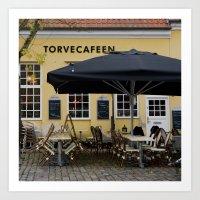 Cafeen Art Print