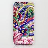 Floral Deco iPhone 6 Slim Case