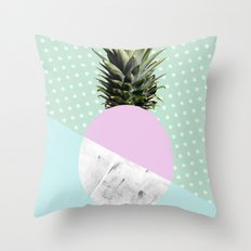 Pineapple anyone? Throw Pillow
