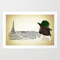 Eiffel I'm In Love Art Print