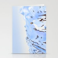 Winter Flight - Drawing 2 Stationery Cards
