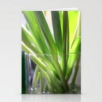tulip stems Stationery Cards