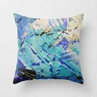 Wasser 9 Throw Pillow