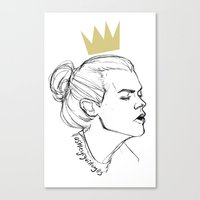 King Bun Canvas Print