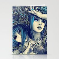 Zodiac Sign: Gemini Stationery Cards