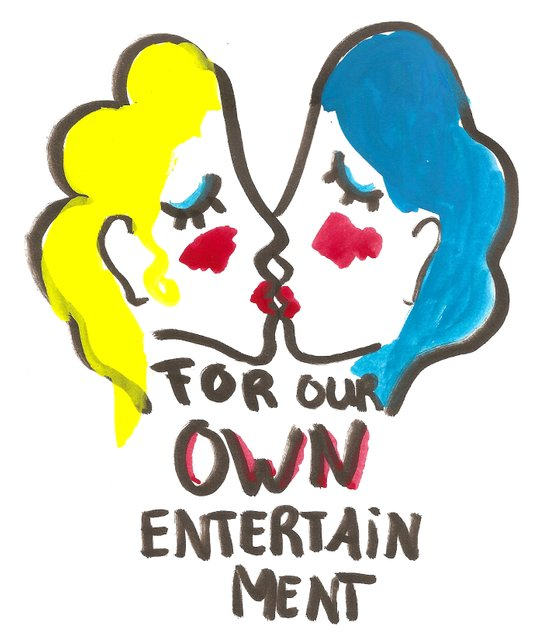 we are lesbians for our own entertainment Art Print