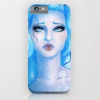 iPhone & iPod Case featuring Blue by Lila Cattis