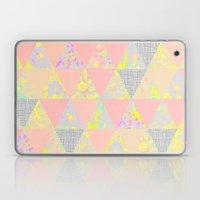 PASTEL NEON GEO FLORALS Laptop & iPad Skin