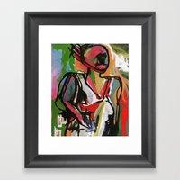 CHARISMA Framed Art Print