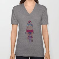 Ride In The Fog Unisex V-Neck