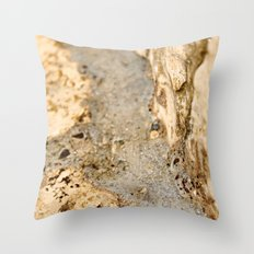 Stream of Bubbles Throw Pillow