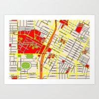Map Design Of The Univer… Art Print