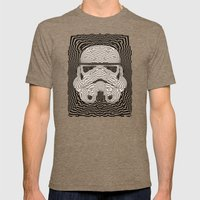 Storm And Radiation Mens Fitted Tee Tri-Coffee SMALL