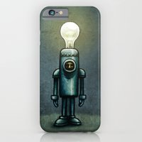 iPhone & iPod Case featuring Mr. Bulb by MaComiX
