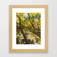 C&O Canal Towpath, Novem… Framed Art Print