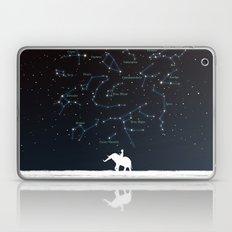 Falling star constellation Laptop & iPad Skin