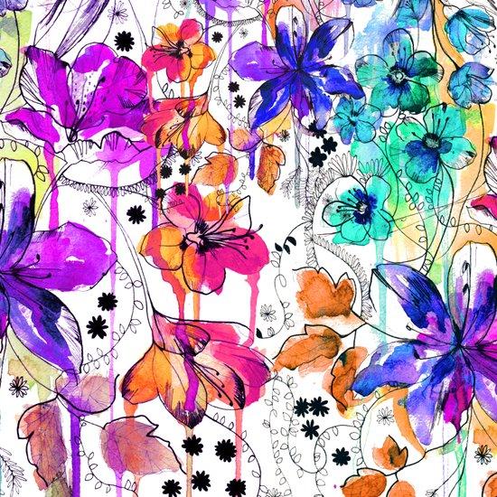 Lost in Botanica Canvas Print