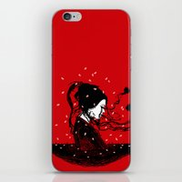 Geiko Poetry iPhone & iPod Skin