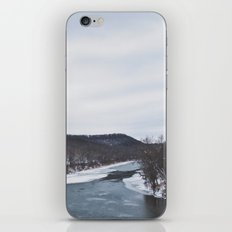 Frozen River iPhone & iPod Skin
