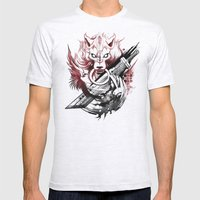 Amano Homage Mens Fitted Tee Ash Grey SMALL