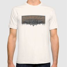 Would You Kindly Mens Fitted Tee Natural SMALL