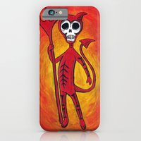 iPhone & iPod Case featuring El Diablo by Shawn Dubin