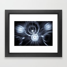 Speed abstract Framed Art Print