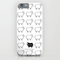 iPhone & iPod Case featuring Stand Out From The Crowd by Unaffiliated Party